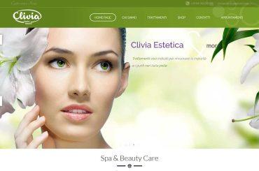 Clivia Estetica – Web Site